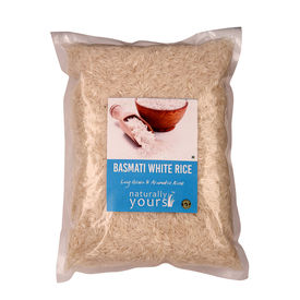 Basmati White Rice 20kg (Bulk)