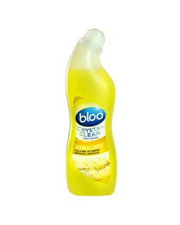 Bloo Crystal Clean Citrus Liquid Toilet Cleaner (750 ml)
