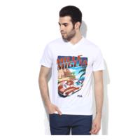 Fila Jason V Neck T-Shirt, xl,  white