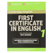 Cambridge First Certificate in English 4 for Updated Exam Student's Book with answers: Official Examination Papers from University of Cambridge (FCE Practice Tests)