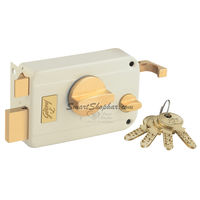 Godrej Ultra Twin Bolt 1CK Inside Opening Beige Brass