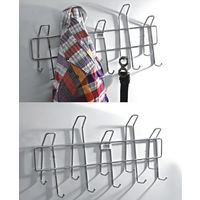 Zig Zag Hanger, home care, 20 x 2 x 11, stainless steel