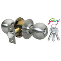 Godrej Stainless Steel Cylinderical Lock With Key