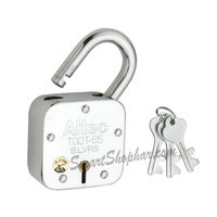 Padlock Single Lock Action 65mm, steel, heavy