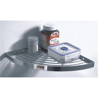 Single Corner, home care, 10 inches, stainless steel