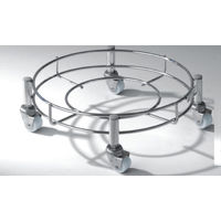 Modular Kitchen Luma Cylinder Trolley, home care, stainless steel