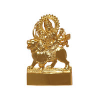 Sherawali Statue, gold, zinc