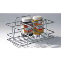 Modular Kitchen Luma Spice Rack, home care, stainless steel