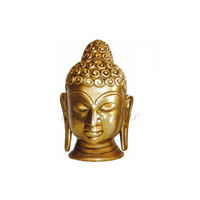 Brass Statue Buddha Face, brass