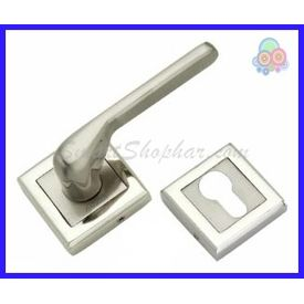MORTISE ROSE HANDLE - JAMMY, 2-2.5 inches, gold silver, zinc