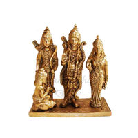 Lord Ramji Parivar With Stage Brass Statue, brass