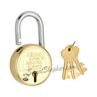 Padlock Single Lock Action 40mm, steel, medium