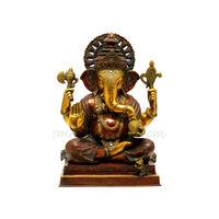 Lord Ganesha The Benevolent God, brass