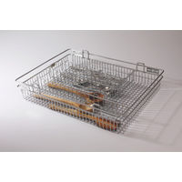 Modular Kitchen Luma Cutlery Wire, home care, 17 x 22 x 4 inches, stainless steel