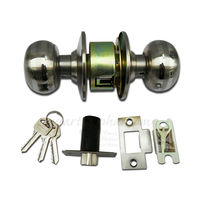 Door Latch Lock, gold, stainless steel, light