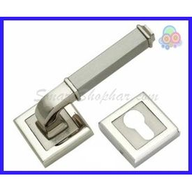 MORTISE ROSE HANDLE - JAMBS, 2-2.5 inches, gold silver, zinc