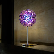 QisDesign Coral Table Lamp,  Violet