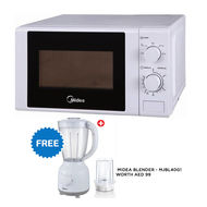 MIDEA 20 LTR MICROWAVE OVEN MM720CGEW,  White