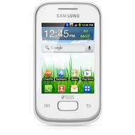 Samsung Galaxy Pocket S5300,  White