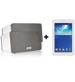 SONOS Play: 3+ Samsung Tab 7 WiFi SM-T113 Bundle Offer,  White