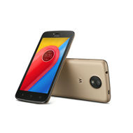 Lenovo MOTO C 4G MOBILE/LTE/Android OS v7.0 Nougat/5.0 Display Screen/Quas Core 1.1 GHz,   Gold