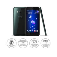 HTC U11 - Dual Sim| 128GB| 6GB| 5.5QHD| 12MP+ 16MP Camera,  Brilliant BLACK
