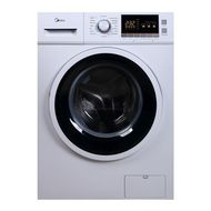 Midea 8Kg Front Loading Full Automatic Washing Machine MFL80E,  White