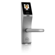 Smart Lock with Face recognition smart card password FL1000, Right Hand,  silver