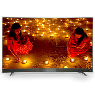 TCL 55 INCH CURVED FULL HD SMART LED (GUN METAL FRAME), LED55P3000CFSGM