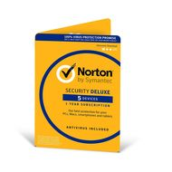 Norton Security Deluxe 3.0 - 1 User, 5 Devices, 12 Months Validity,