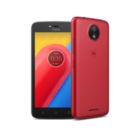 Lenovo MOTO C 4G MOBILE/LTE/Android OS v7.0 Nougat/5.0 Display Screen/Quas Core 1.1 GHz,  Red