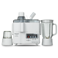 PANASONIC MJM176P JUICER/BLENDER 1000ML/2 SPEED,  White