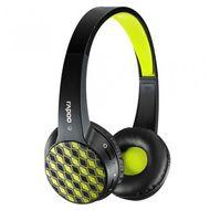 Rapoo S100 Bluetooth 4.1 Multi Style Headset - Headphones,  Black Yellow