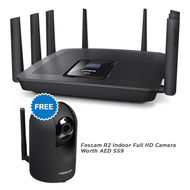 LINKSYS EA9500 Next Gen WI-FI ROUTER AC5400 MU-MIMO,  Black