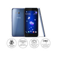 HTC U11 - Dual Sim| 128GB| 6GB| 5.5QHD| 12MP+ 16MP Camera,  Amazing  SILVER