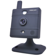 Foscam Wireless IP Box Camera Indoor,  Black