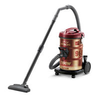 Hitachi Drum Vaccum Cleaner, CV960Y24,  Platinum Grey, 2100 W