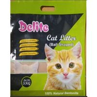 DELITE BENTONITE BALL SHAPE LITTER 5KG