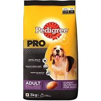 Pedigree Pro Adult Small Breed Dog Food 3 Kg