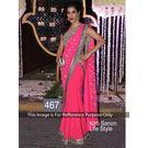 Kmozi Sophi Lifee Style Designer Saree, pink