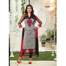 Kmozi Ayesha Takia Designer Long Churidar Salwar Kameez, grey