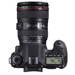 Canon EOS 6D kit (EF 24-105mm f/4L IS USM) DSLR, black