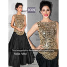 Kmozi Nargis Fakhri Anarkali In Amfar India 2013, black