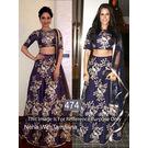 Kmozi Neha With Tamnna Designer Lehenga Choli, blue