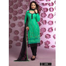 Kmozi Churidar Dress Material, green