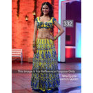 Kmozi Isha Gupta Lemon Queen Lehenga Choli, yellow