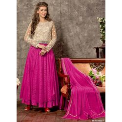Kmozi Latest Designer Anarkali Suits Buy Online, pink