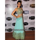 Kmozi Karishma Lackme Fashion Desginer Lehenga Choli, light rama