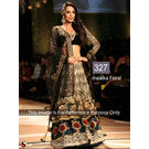 Kmozi Floral Designer Latest Lehenga Choli, black