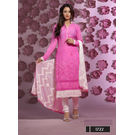 Kmozi Mind Blowing Designer Cotton Dress Material, pink